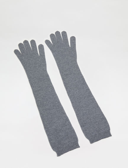 Long Wool Opera Gloves