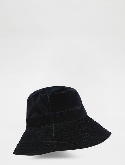 Brimmed Velvet Hat Sportmax