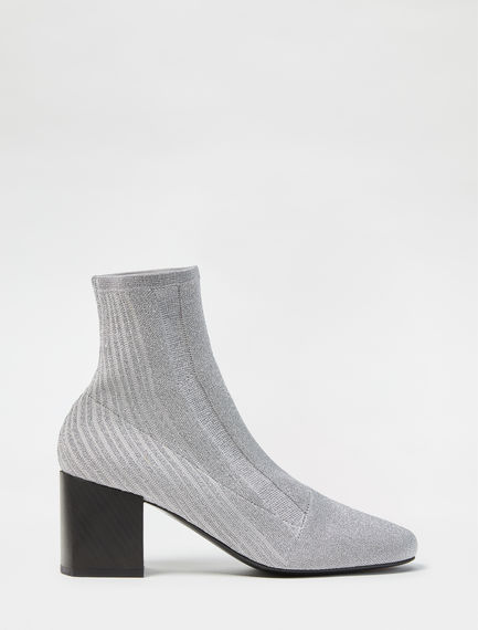 Lurex Knitted Ankle Boot Sportmax