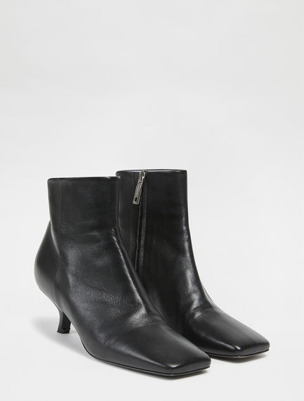 Sculpted Toe Ankle Boots