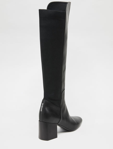 Equestrian Long Leather Boots