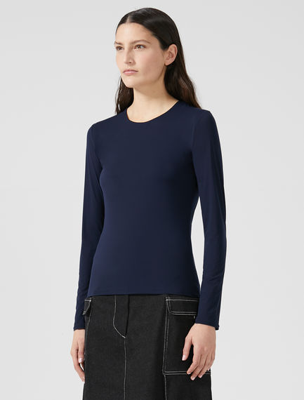 Crew-neck Jersey Top Sportmax