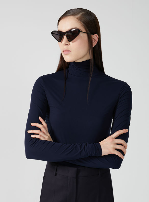 Double Jersey Long-sleeve T-shirt Sportmax