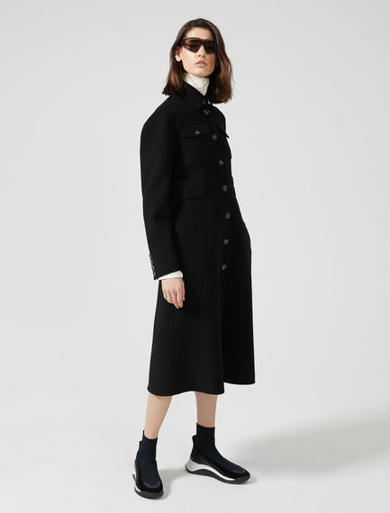 Double Wool Military Coat Sportmax