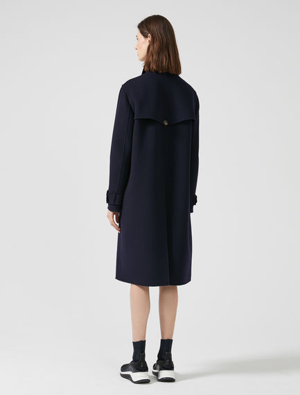 Double Wool Aviation Coat
