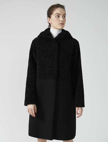 Dynamic Two Texture Coat Sportmax