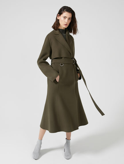 Free-Flowing Trench Coat Sportmax