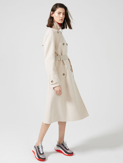 Double Wool Trench Coat Sportmax