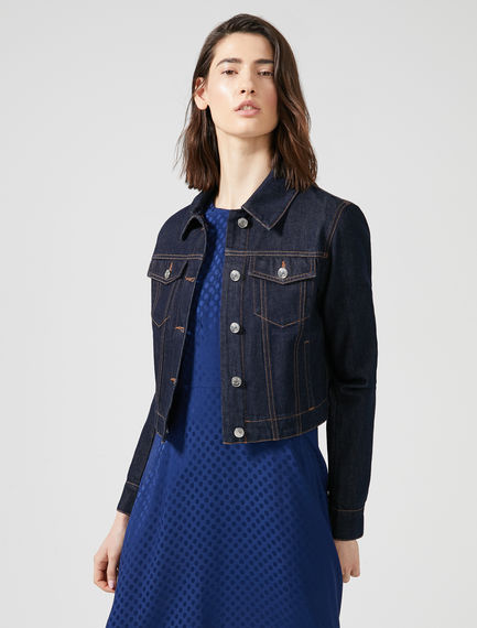 Boxy Denim Jacket Sportmax