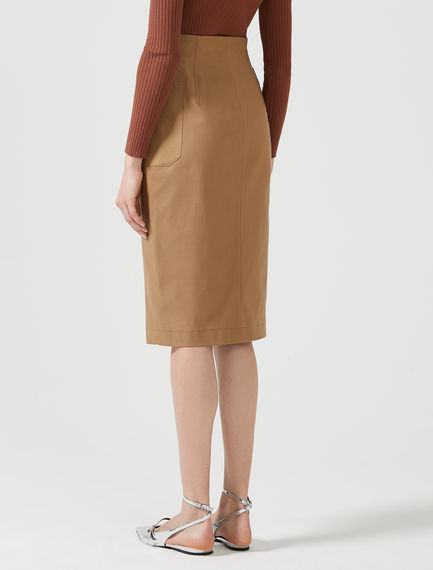 Utility Pocket Pencil Skirt