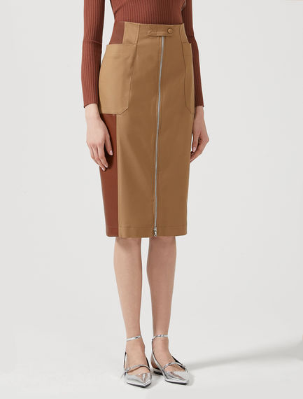 Utility Pocket Pencil Skirt Sportmax