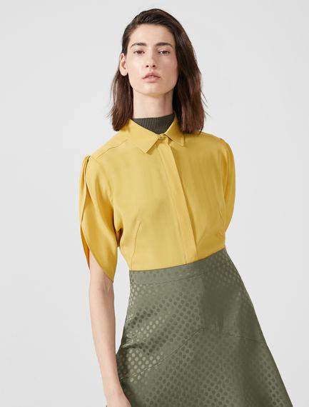 Tulip Sleeve Crepe Shirt Sportmax