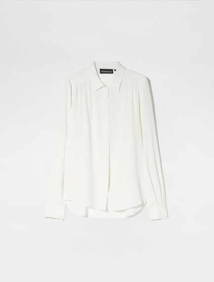 Streamlined Crepe Shirt