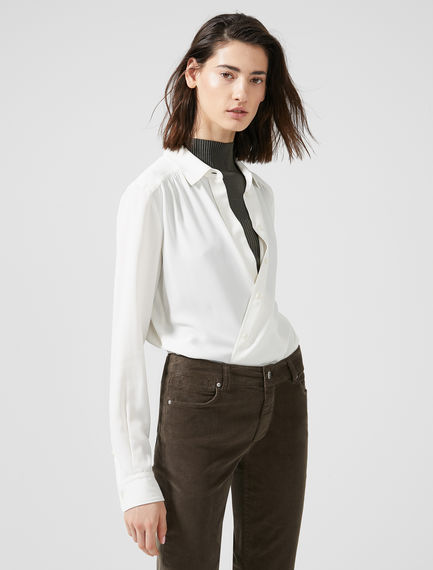 Streamlined Crepe Shirt Sportmax