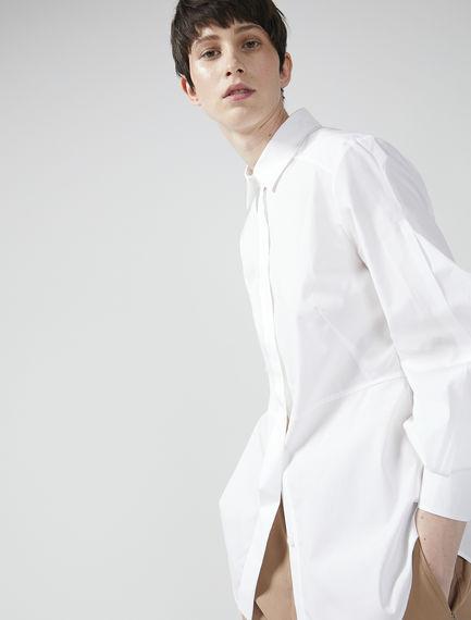 Puff Sleeve Poplin Shirt Sportmax