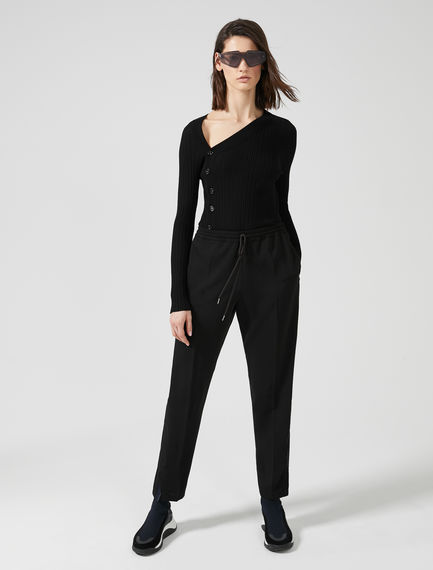 Ribbon Side Jogging Pants Sportmax