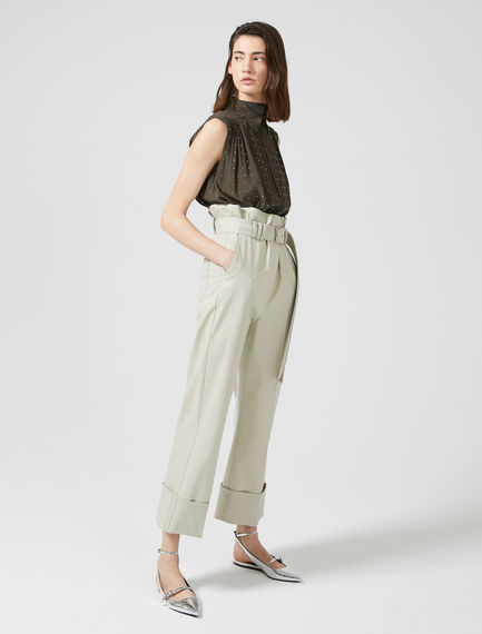 Gabardine Aviation Trousers Sportmax