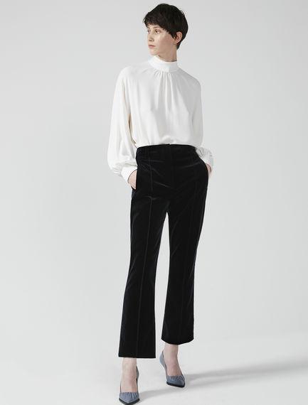 Pantaloni flare in velluto Sportmax