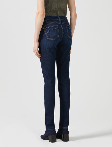 Skinny Fit Low-rise Jeans