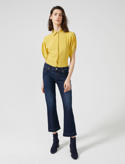Cropped Flare Jeans Sportmax
