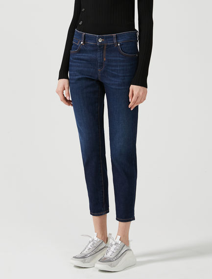 Low-rise Cigarette Jeans
