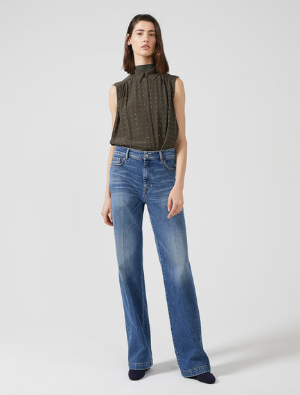 High-rise Triple-stitch Jeans Sportmax