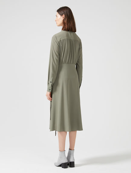 Drawstring Shirt Dress Sportmax
