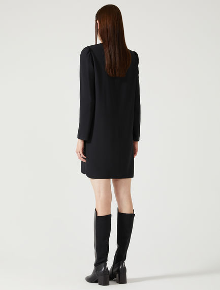 Puff Sleeve Tunic Dress