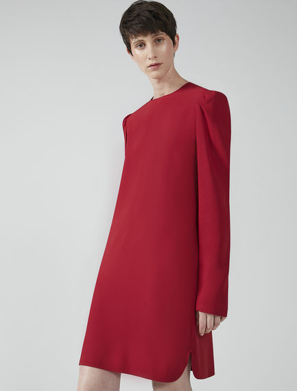 Puff Sleeve Tunic Dress Sportmax