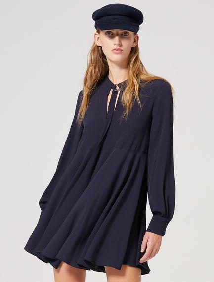 Fluid Scarf Mini Dress