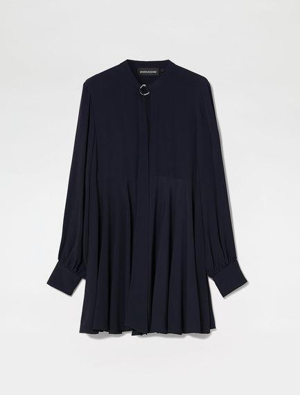Mini dress con fusciacca