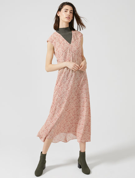 Neo-romantic Crêpe De Chine Dress Sportmax