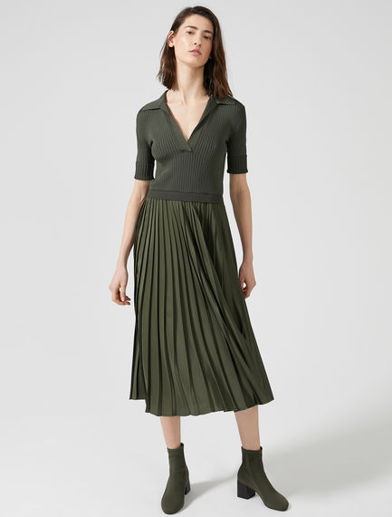 Hybrid Collared Dress Sportmax
