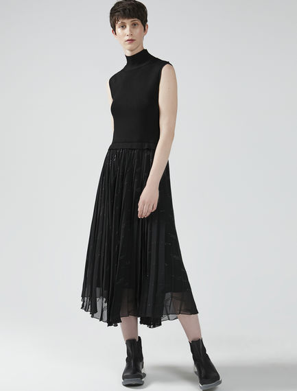 Sleeveless Hybrid Dress Sportmax