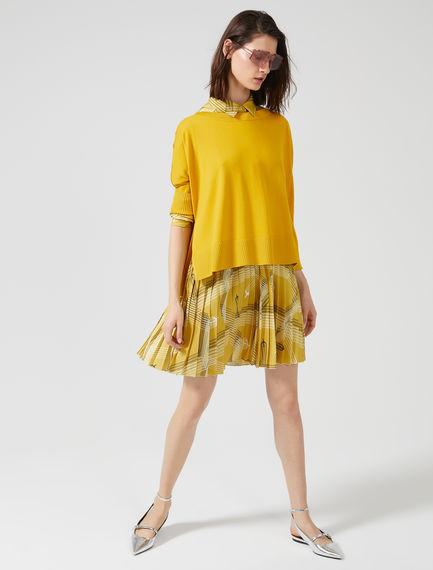 Oversized Silk & Viscose Sweater
