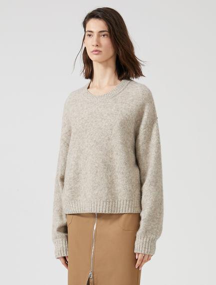 Felted Alpaca Sweater