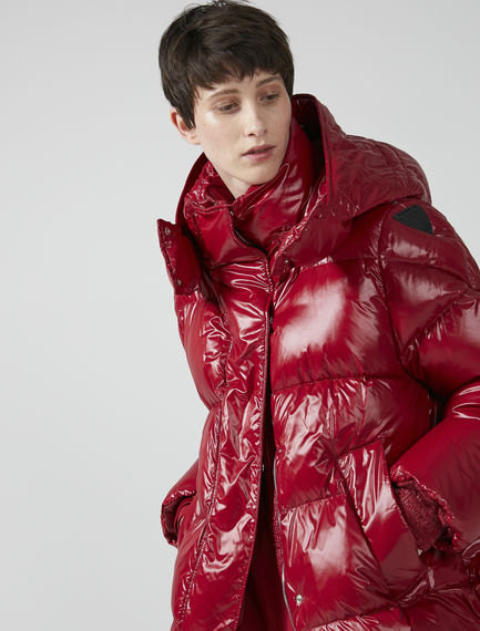 Goose-down Transforming Puffer Jacket Sportmax