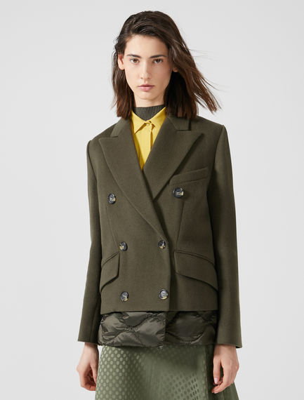 Transforming Wool Puffer Coat Sportmax