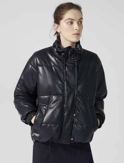 Eco Leather Transforming Puffer Jacket Sportmax