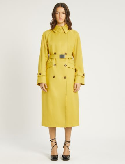 Water-repellent cotton trench coat Sportmax