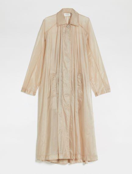 Wide water-resistant trench coat