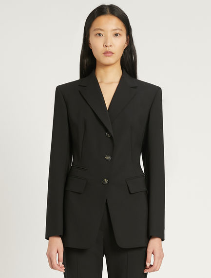 Stretch wool blazer Sportmax