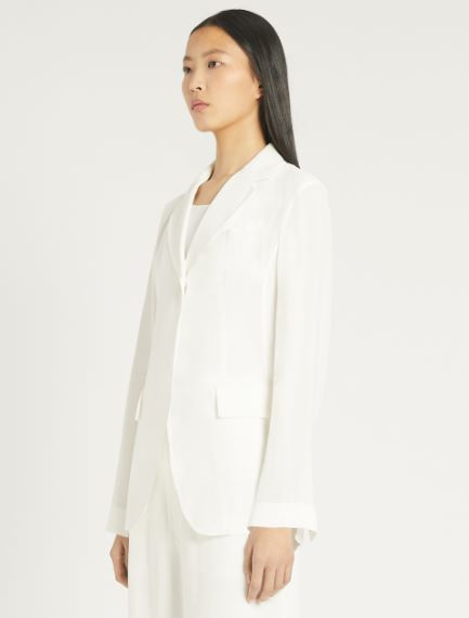 Viscose and ramie blazer Sportmax