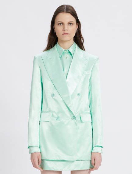 Double-breasted duchesse blazer Sportmax
