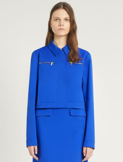 Stretch cotton gabardine jacket Sportmax