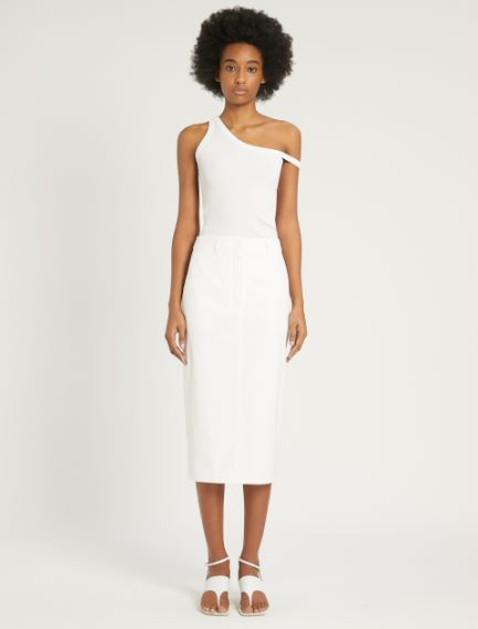 Cotton poplin skirt  Sportmax