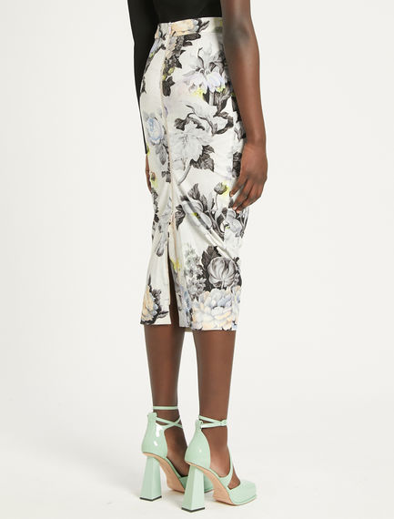 Floral-print pencil skirt Sportmax