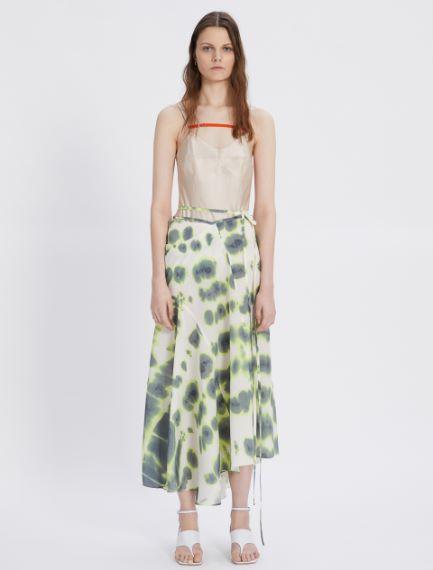 Printed crepe skirt Sportmax
