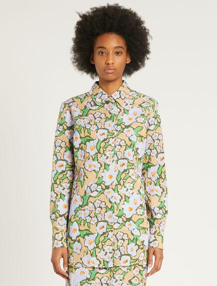 Camicia con stampa floreale Sportmax