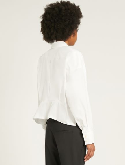 Boxy-fit cotton shirt